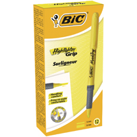 Bic Brite Liner Highlighter Yellow (Pack of 12) Buy 1 Get 1 Free