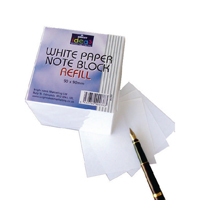 Bright Ideas Note Block Refill 700 White Sheets  Pack of 700