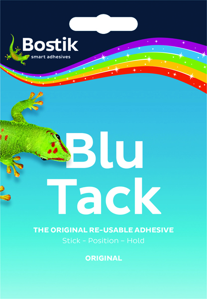 Bostik Blu-Tack Handy Pack 60g - Pk12