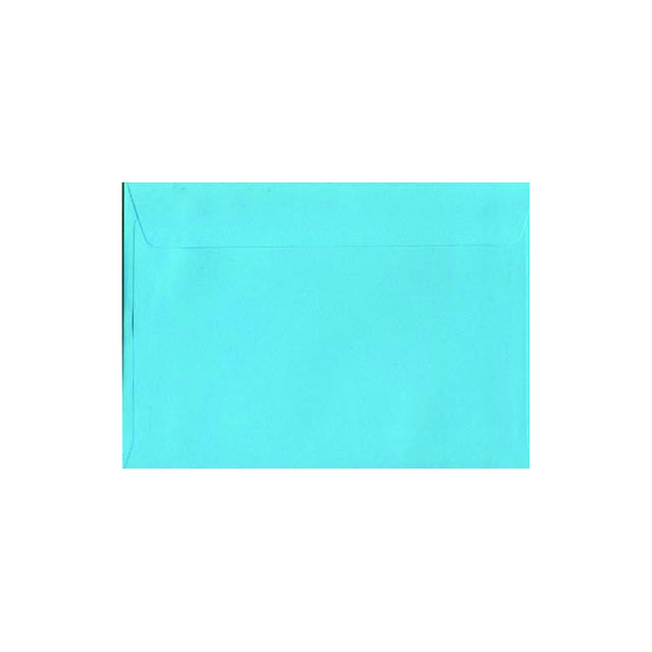 Image for C5 Wallet Envelope Peel and Seal 120gsm Cocktail Blue (Pack of 250)