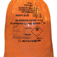 Heavy Duty Clinical Waste Sack for Alternative Treatment (Pack of 250) FL0512
