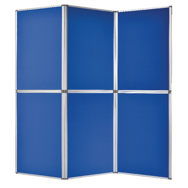 Image for Bi-Office 6 Panel Display Kit Blue DSP340116