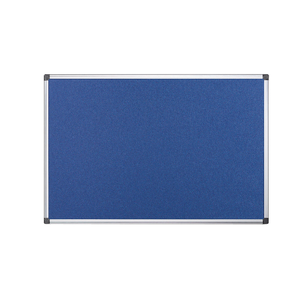 Bi-Office Fire Retardant Notice Board 1200x900mm