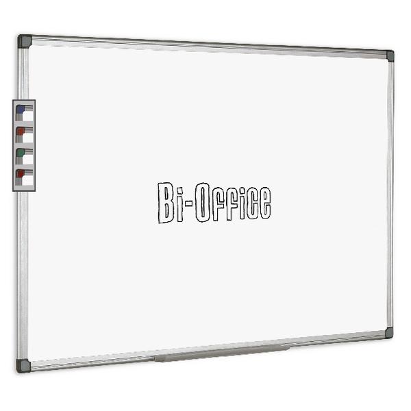 Bi-Office Aluminium Trim Drywipe Board 2400x1200mm MB0312170