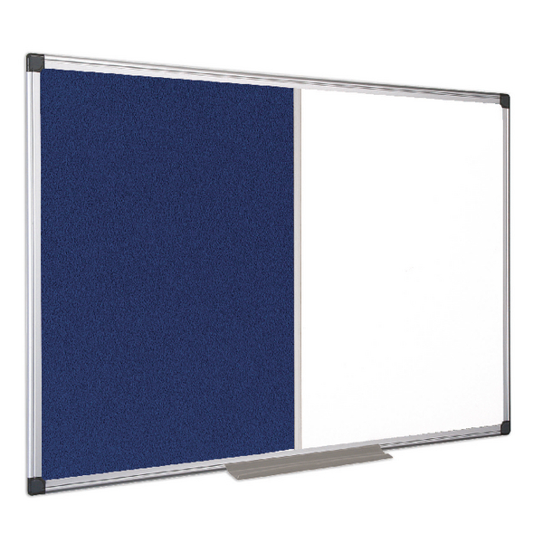 Bi-Office Combination Magnetic and Felt Board 900x600mm XA0322170