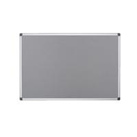 Bi-Office Felt Board 1800 x 1200mm Grey (Pack of 1) FA2742170