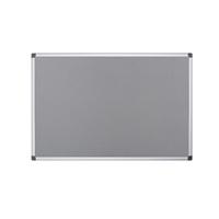 Bi-Office Felt Board 900 x 600mm Grey (Pack of 1) FA0342170
