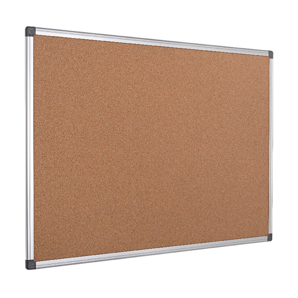 Bi-Office Cork Board 2400x1200 Alum Frame