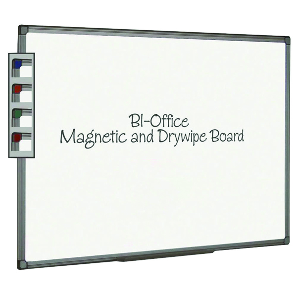 Bi-Office 600x450mm Magnetic Whiteboard