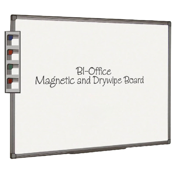 Bi-Office Aluminium Finish 2400x1200mm Magnetic Board MB1406186