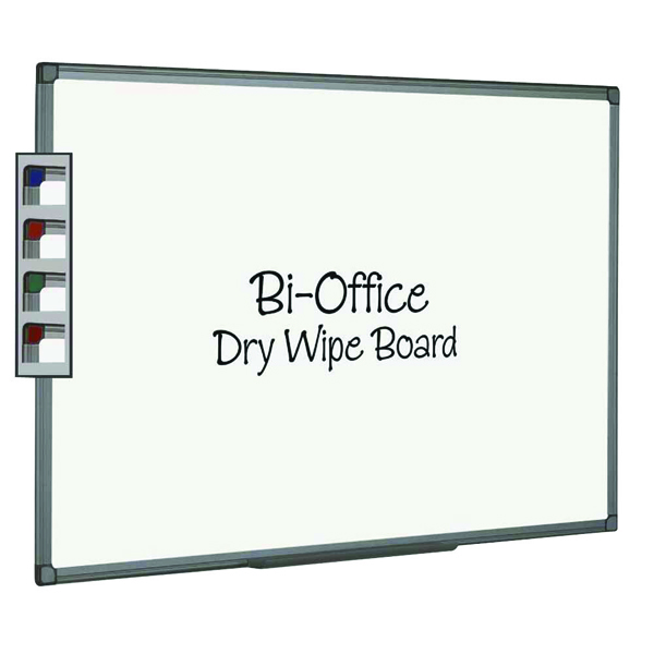 Bi-Office Aluminium Finish 600x450mm Drywipe Board MB0412186