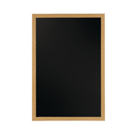 Bi-Office Chalk Board 900 x 600mm Oak Frame (Pack of 1) PM0715232