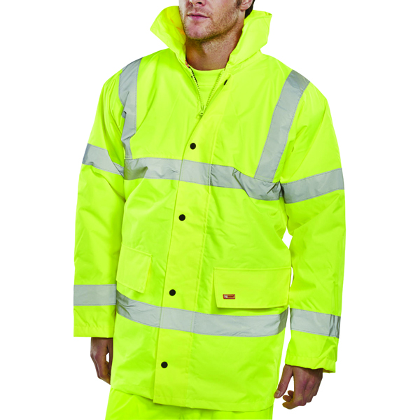 Proforce Yellow High Visibility Site Jacket Class 3 EN471 XL HJ03YLXL