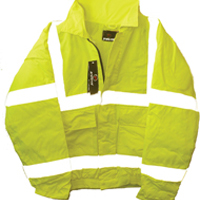 Proforce Yellow High Visibility Bomber Jacket Large Class 3 (Pack of 1) HJ44YL-L