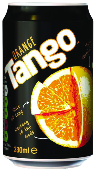 Tango Orange 330ml Can (Pack of 24) 402011