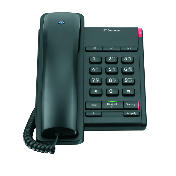 Image for BT Converse 2100 Corded Phone Black 040206