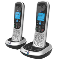 BT BT2600 cordless telephone twin