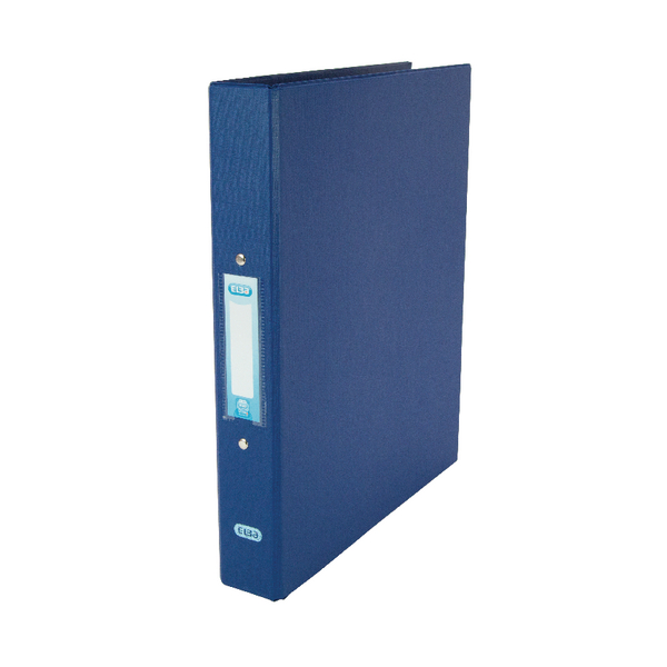 Elba Blue A4 2 Ring Binder 25mm (Pack of 10) 400001508
