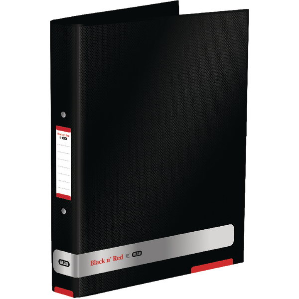Black n Red By Elba Ring Binder