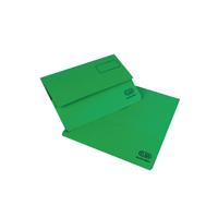 Elba Bright Green Manilla Document Wallet (25 Pack) A26614