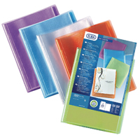 Image for Elba Polyvision A4 20 Pocket Display Book Pack of 12 100206086