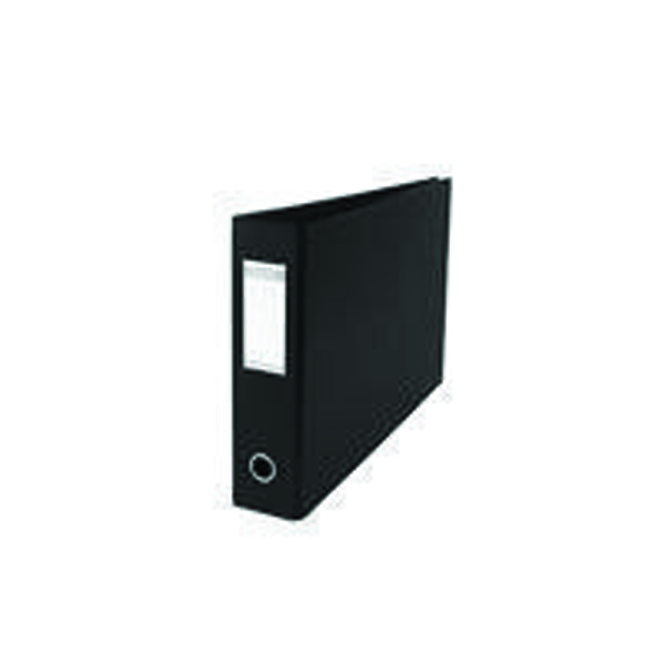 Elba A3 70mm Black Plastic Lever Arch File (Pack of 2) 400008440