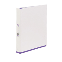 Image for Elba MyColour White and Purple A4 Ring Binder 400019117