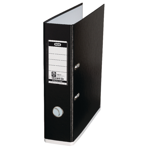 Elba MyColour A4 Black and White Lever Arch File 100081033