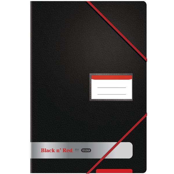 Image for Black n Red A4 20 Pocket Display Book 400050725