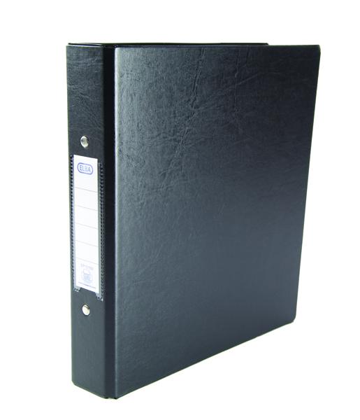 Elba A5 Black 25mm 2 O-Ring Binder Pack of 10 100082442