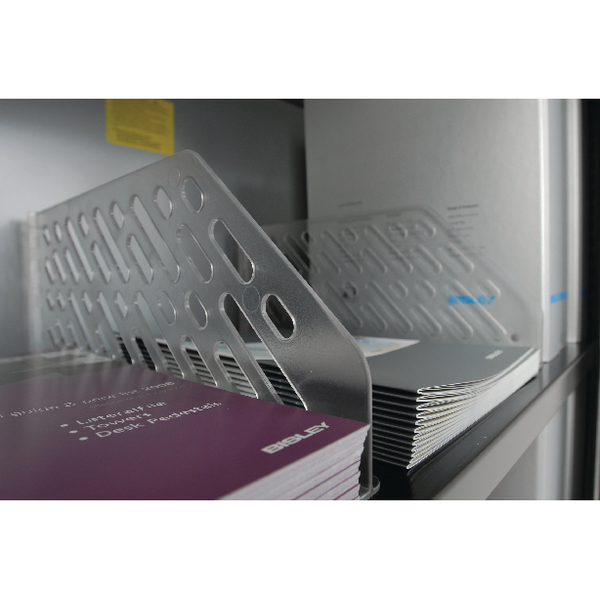 Image for Bisley Black Slotted Shelf BSSGY