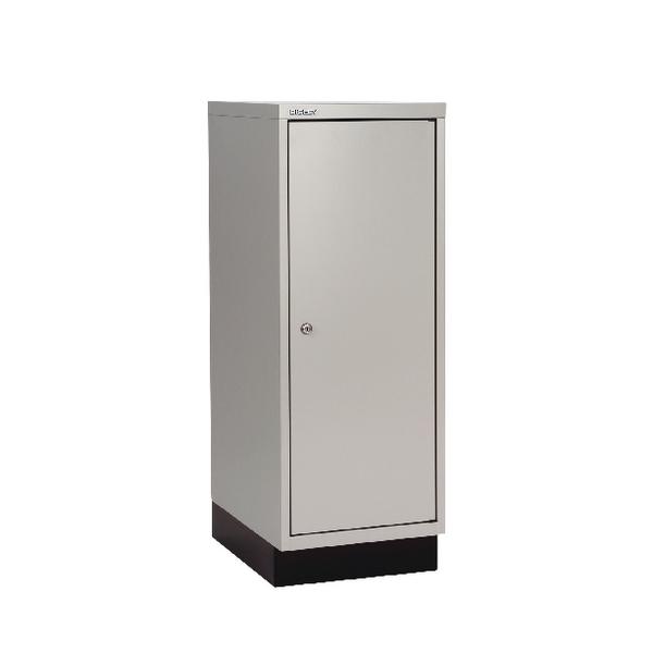 Bisley 1 Door Cupboard W349xD432xH940mm Goose Grey (Pack of 1)