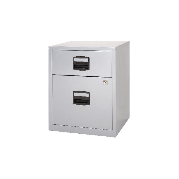 Bisley 2 Drawer Grey A4 Mobile Home Filer BY11112