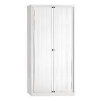 Bisley Eurotambour 4 Shelves Chalk White (Pack of 1)