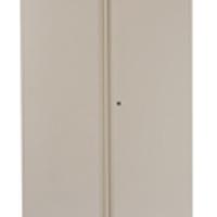 Bisley 2 Door Cupboard W914xD457xH1968mm Coffee Cream (Pack of 1)