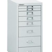 Bisley Non-Locking Multi-Drawer Cabinet 8 Drawer Grey (Pack of 1)