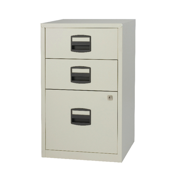 Image for Bisley A4 Home Filer 3 Drawer Lockable Grey