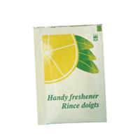 Lemon Scented Handy Freshener Wipes (1000 Pack) P01373
