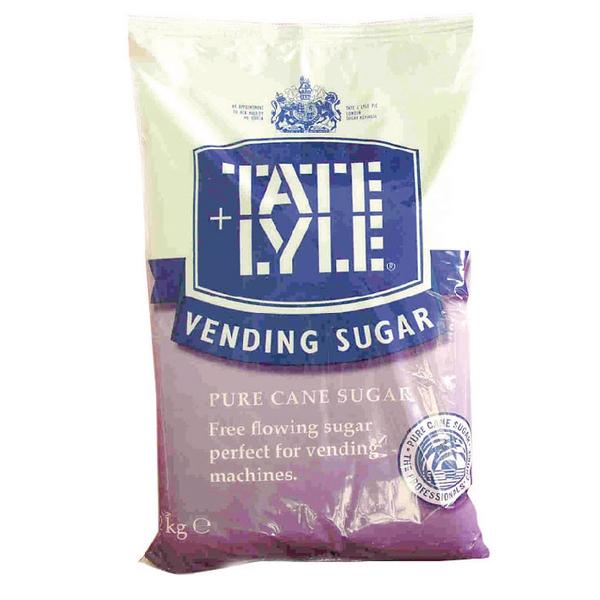 Tate & Lyle Fine Vending Sugar White 2kg (Pack of 1) A00696