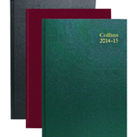 Collins A4 Week to View 2015/16 Academic Assorted (Pack of 1) 40M