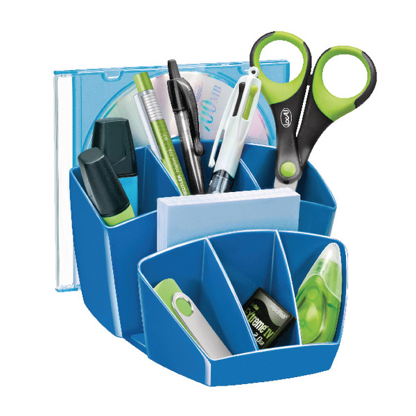 CEP Pro Gloss Blue Desk Tidy 580GBLUE