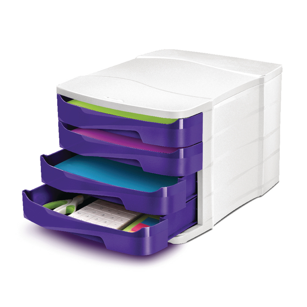Image for CEP Pro Gloss Purple 4 Drawer Set 394BIGPURPLE