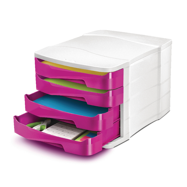 Image for CEP Pro Gloss 4 Drawer Set Pink 394BIGPINK