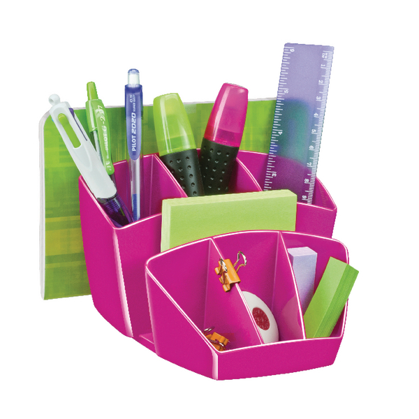 CEP Pro Gloss Pink Desk Tidy (Pack of 1) 580G PINK