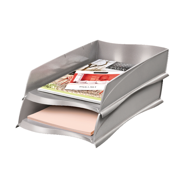 CEP Ellypse Xtra Strong Letter Tray Taupe (Pack of 1) 1003000201