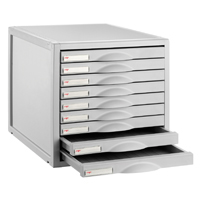 Image for CEP Flexystem Light Grey 9 Drawer Unit (Pack of 1) 8409