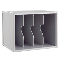 Image for CEP Flexystem Light Grey Unit with 3 Vertical Dividers (Pack of 1) 8103