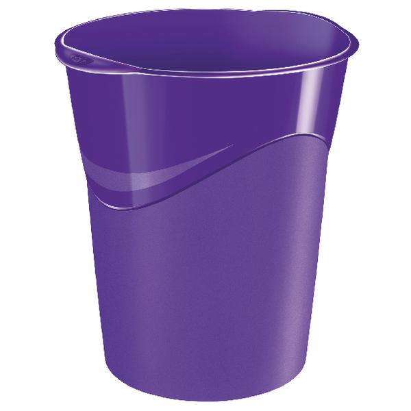 CEP Pro Gloss Purple Waste Bin 280GPURPLE