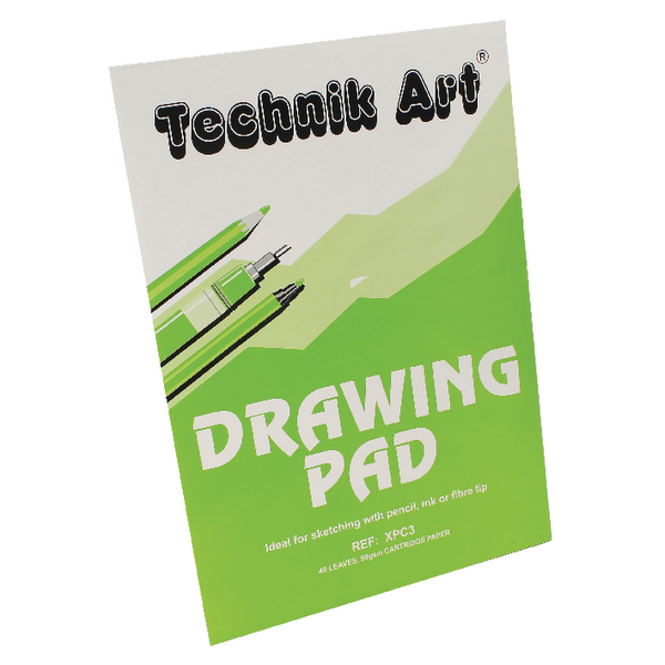 Technik White A3 Art Drawing Pad XPC3