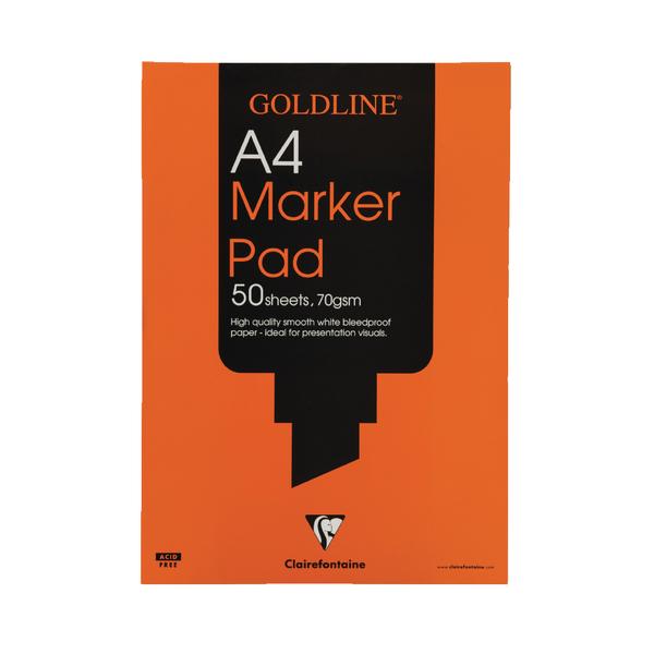 Image for Goldline Marker A4 Pad GPB1A4
